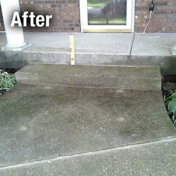 Toledo Concrete Step Repair - After