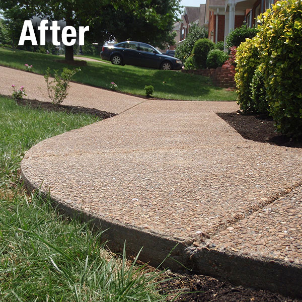 Toledo Concrete Sidewalk Leveling - After