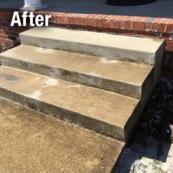 Toledo​ Concrete Steps Leveling - After
